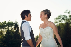 Perfect Day Wedding Planners Amanda and Andrew bride and groom real wedding