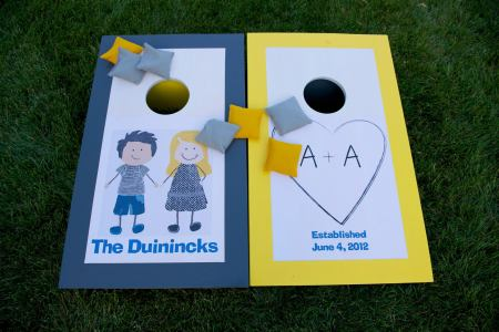 Perfect Day Wedding Planners outdoor games for reception