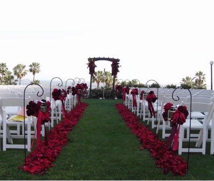 morgans ceremony aisle