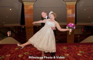Perfect Day Wedding Planners Melanie and Jerry Harrahs Joliet bridal couple