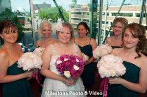 Perfect Day Wedding Planners Melanie and Jerry Harrahs Joliet bridesmaids