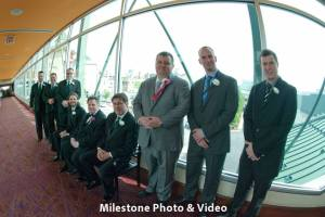 Perfect Day Wedding Planners Melanie and Jerry Harrahs Joliet groomsmen