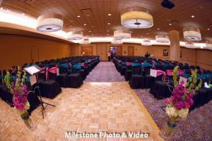 Perfect Day Wedding Planners Melanie and Jerry Harrahs Joliet indoor ceremony