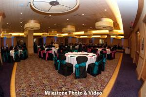 Perfect Day Wedding Planners Melanie and Jerry Harrahs Joliet reception room setup