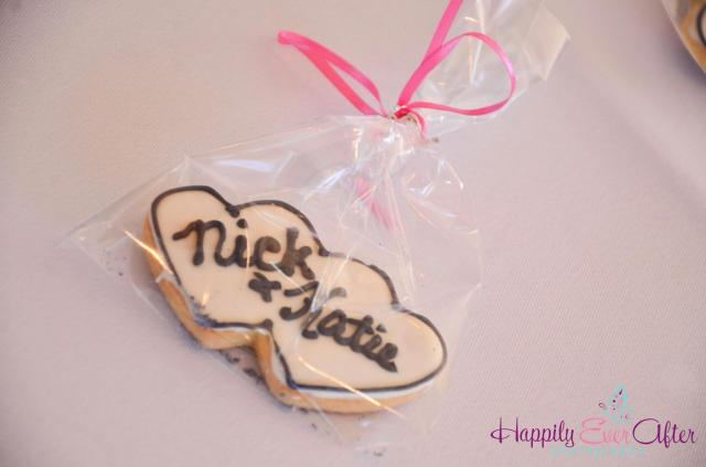 Perfect Day Wedding Planners Wedding Cookie Favors