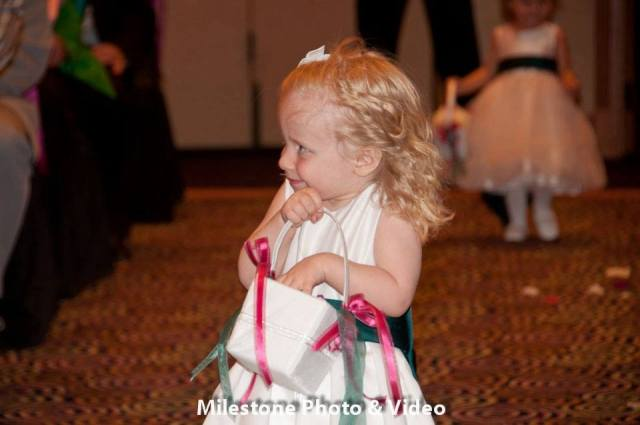Perfect Day Wedding Planners flower girl