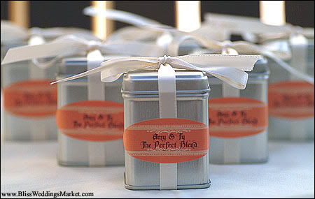 Perfect Day Wedding Planners Loose Tea Wedding Favors