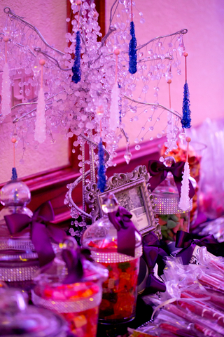 Perfect Day Wedding Planners Decorated Wedding Table with Candy Bar