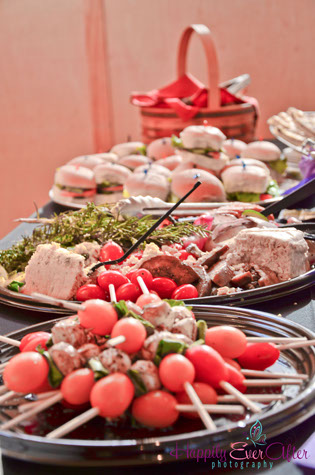 Perfect Day Wedding Planners food buffet