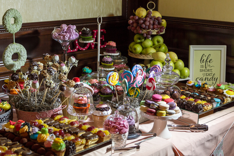 Perfect Day Wedding Planners Candy Buffet and Sweets Table