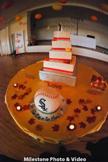 Perfect Day Wedding Planners Fall and Cubs Baseball Wedding Theme