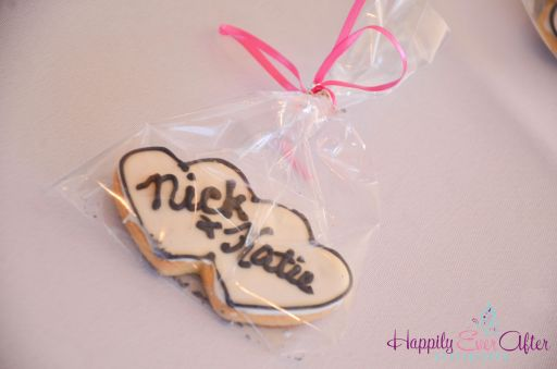 Perfect Day Wedding Planners Wedding Cookie Place Cards